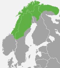 Lappland Karte.Lappland Landeskunde